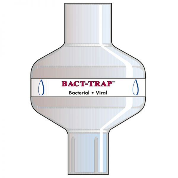 Bact Trap Basic. Tidal volume (ml): 150–1500 ml.