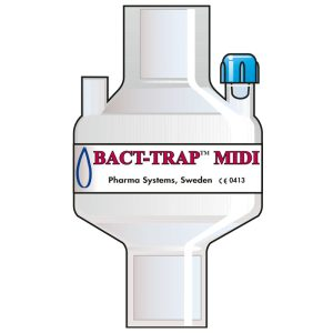 7110 Bact Trap Midi Port. Tidal volume (ml): 100–1200 ml.