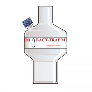 Bact Trap Mini Port 2. Tidal volume (ml): 50–900 ml.