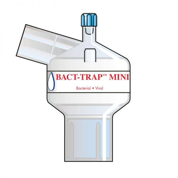 Bact-Trap Mini Port Angle. Tidal volume (ml): 50–900 ml.