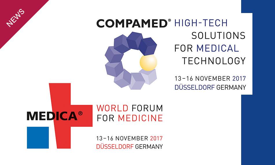 MEDICA – COMPAMED Düsseldorf 13-16 November
