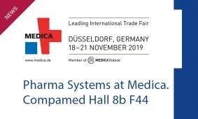 MEDICA – COMPAMED, Düsseldorf 18-21 Nov 2019