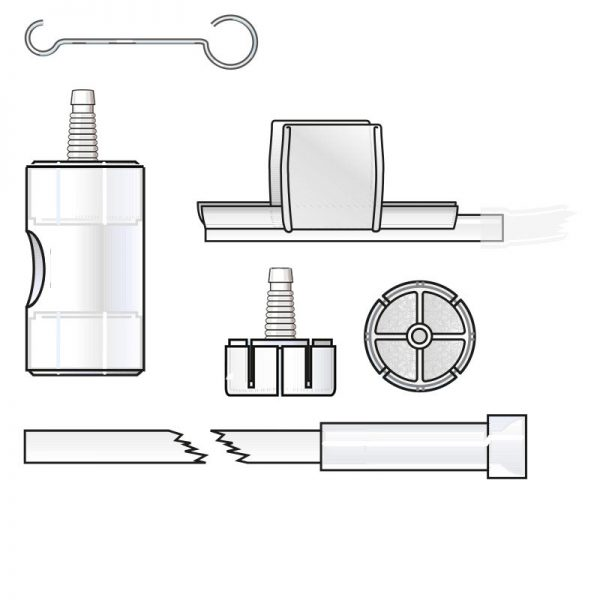 6246 PHARMA TRACH Heat and moisture exchanger intended for tracheotomized spontaneously breathing patients. Recommended for respiratory care, ENT, Emergency and Home Care.