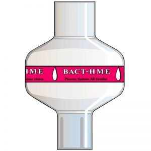 Bact HME Basic. Tidal volume (ml): 150–1500 ml.