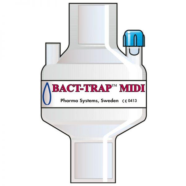7110 Bact Trap Midi Port. Tidal volume (ml): 100–1200 ml.