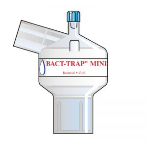 Bact-Trap Mini Port Angle. Tidal volume (ml): 50–900 ml.