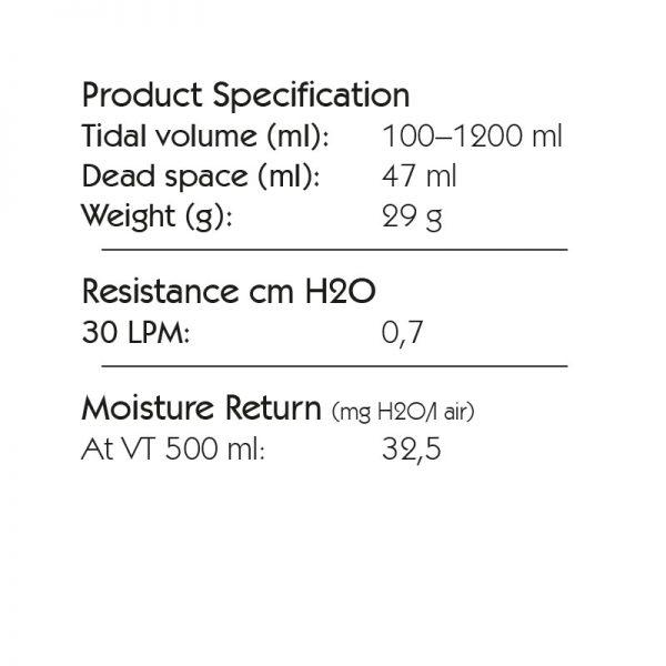 Spec HME Midi 11 Port Angle, Tidal Volume: 100-1200 ml. 6307