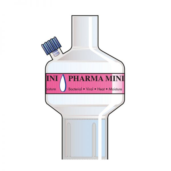 Pharma Mini Port 2. Tidal volume (ml): 50–900 ml