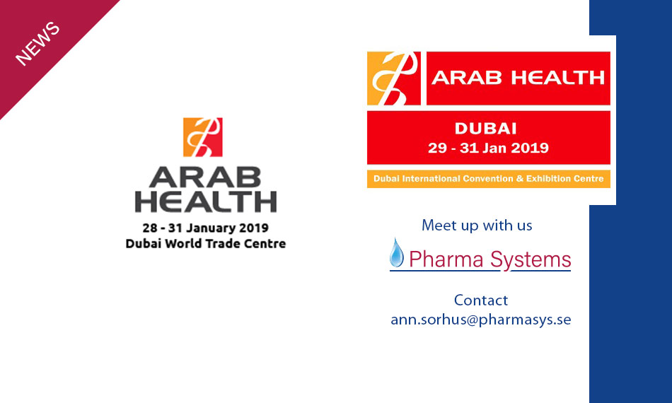 Arab Health Dubai 2019.
