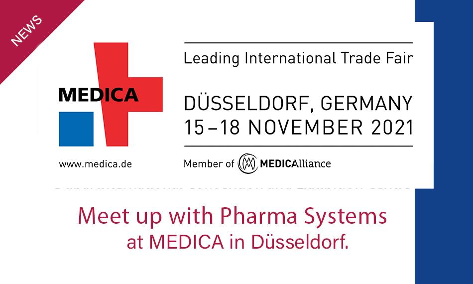 Medica 2021, 15-18 November. Meet us here!